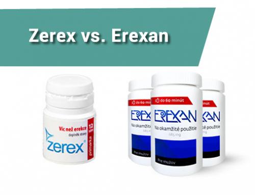 Exkluzivní porovnání Zerex vs Erexan