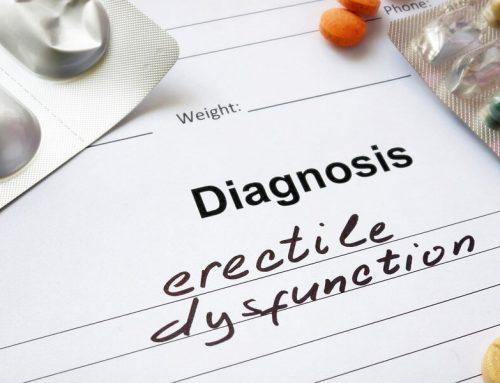 Jak na diagnózu erektilní dysfunkce – poruchy erekce